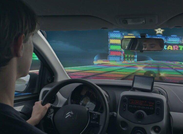 Auto rijden Mario Kart