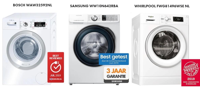 beste koop wasmachines vergelijken