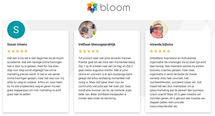 bloom-academy-ervaringen