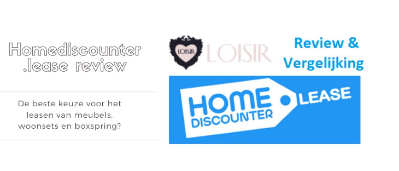 Homediscounter.lease Review en Vergelijken: Boxsprings, Meubels & Meer