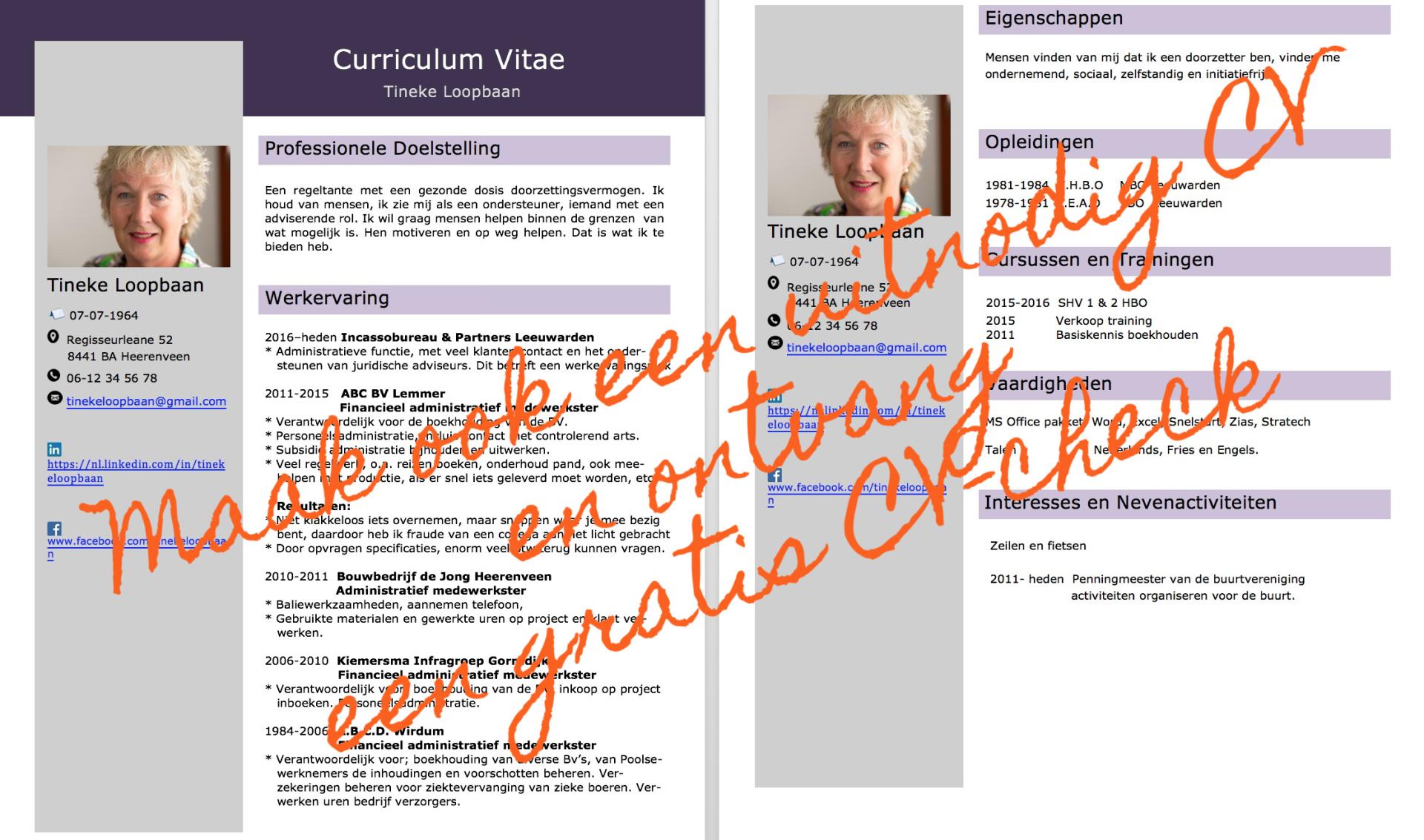 De masterclass van wegwerp CV naar uitnodig CV