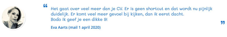 Eva over loopbaanadvies Nieuwegein en Heerenveen