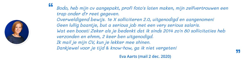 Eva over loopbaanbegeleiding Heerenveen en Nieuwegein