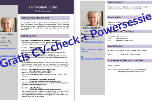 Gratis Masterclass Curriculum Vitae