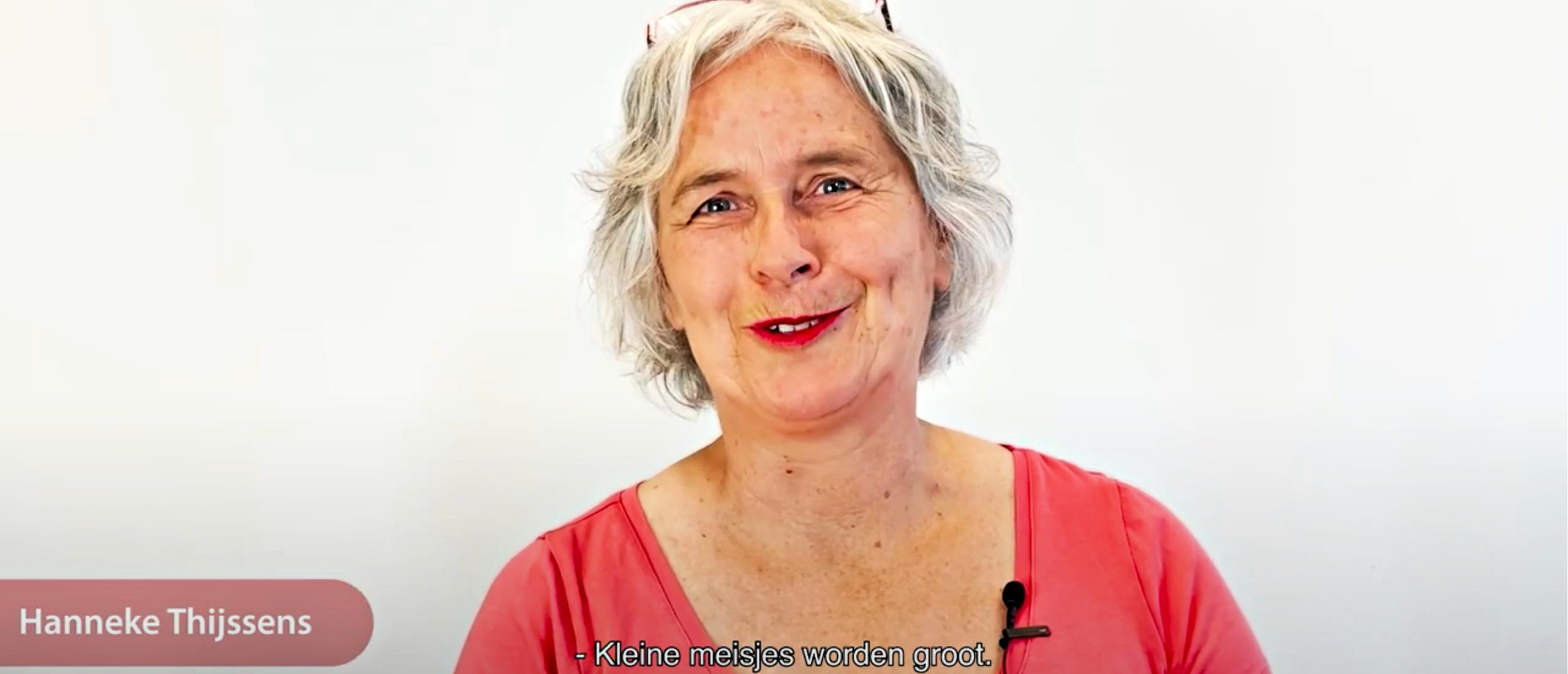 Hanneke pitcht voor een baan in het onderwijs