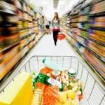rennen in de Supermarkt