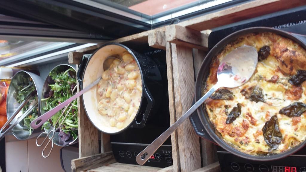 Lasagna en Gnocci