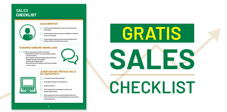 Gratis Sales Checklist