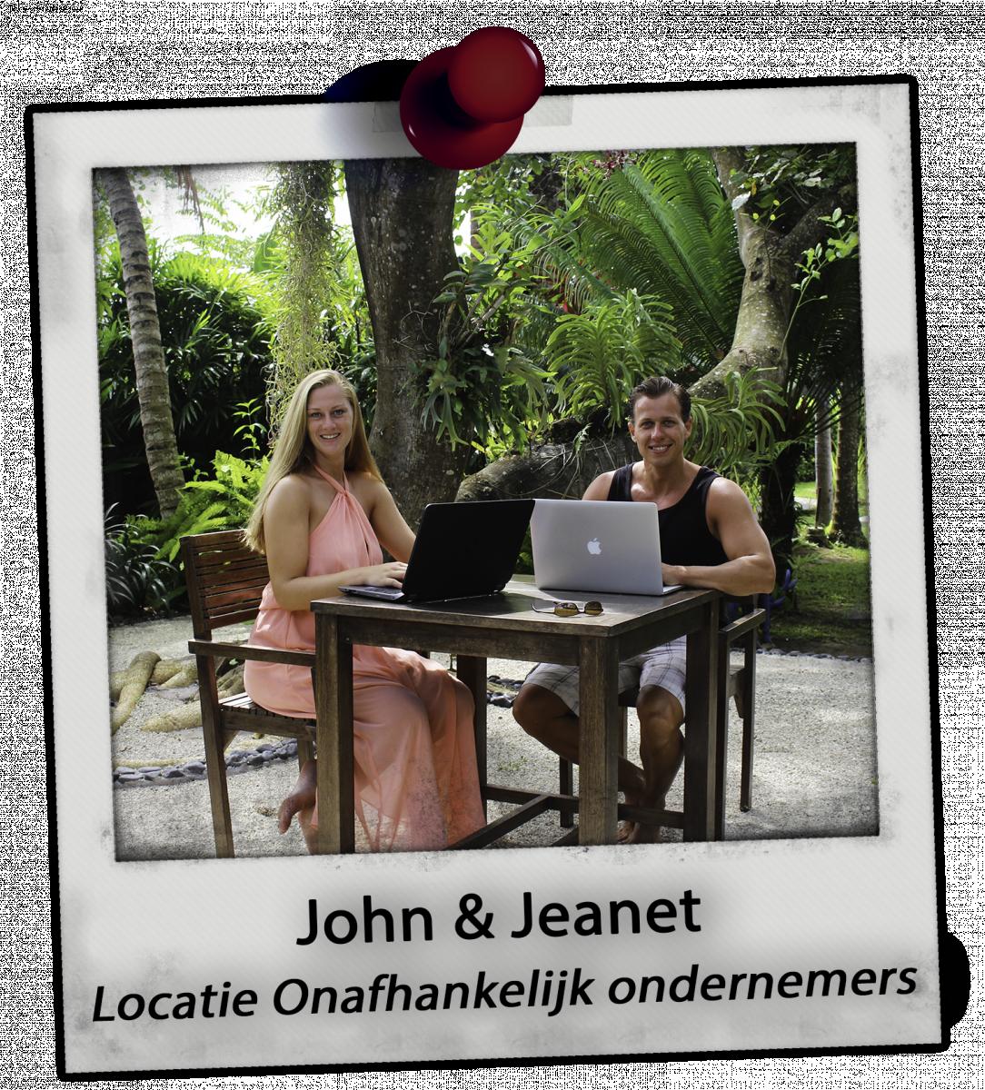 John en Jeanet in de Kickassleven.nl Universiteit