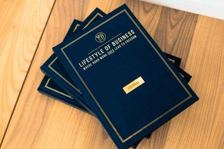 Vrij gebruik van business journal