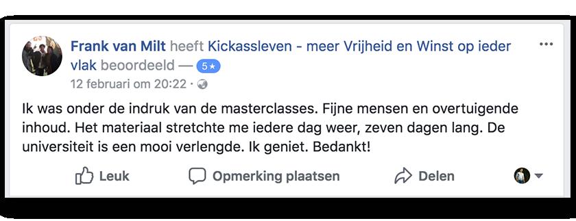 Masterclass Review Frank_Kickassleven.nl