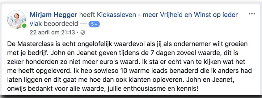 Masterclass Review Mirjam_Kickassleven.nl