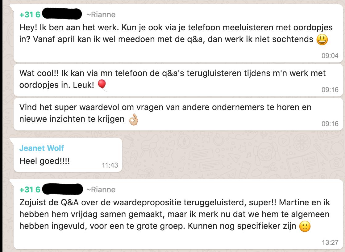 Positieve reactie Rianne_lsob.nl Universiteit