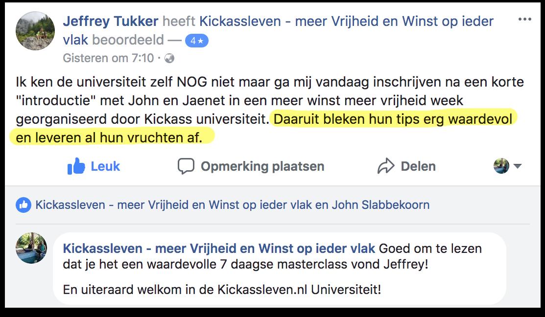 Masterclass Review Jeffrey_Kickassleven.nl