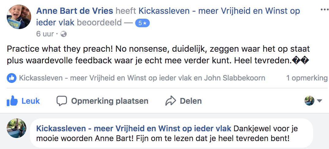 Positieve reactie Anne Bart_lsob.nl Universiteit