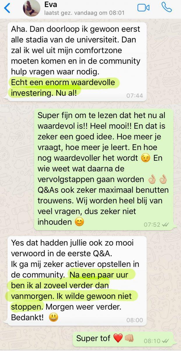 aPositieve reactie Eva_lsob.nl Universiteit