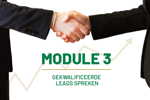 Sales training Lifestyle of Business-Gekwalificeerde leads spreken