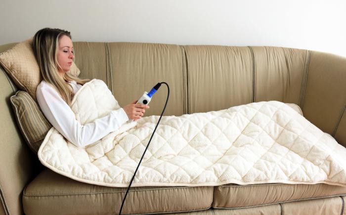 ezy-deken voor makkelijk gebruik pemf therapie