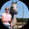 jantine-verwiel gebruikte transpirator voor har endurance paarden