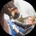 rosanne-tijssen-van-zelst gebruikt therapulse in haar werk als paardensportmasseur