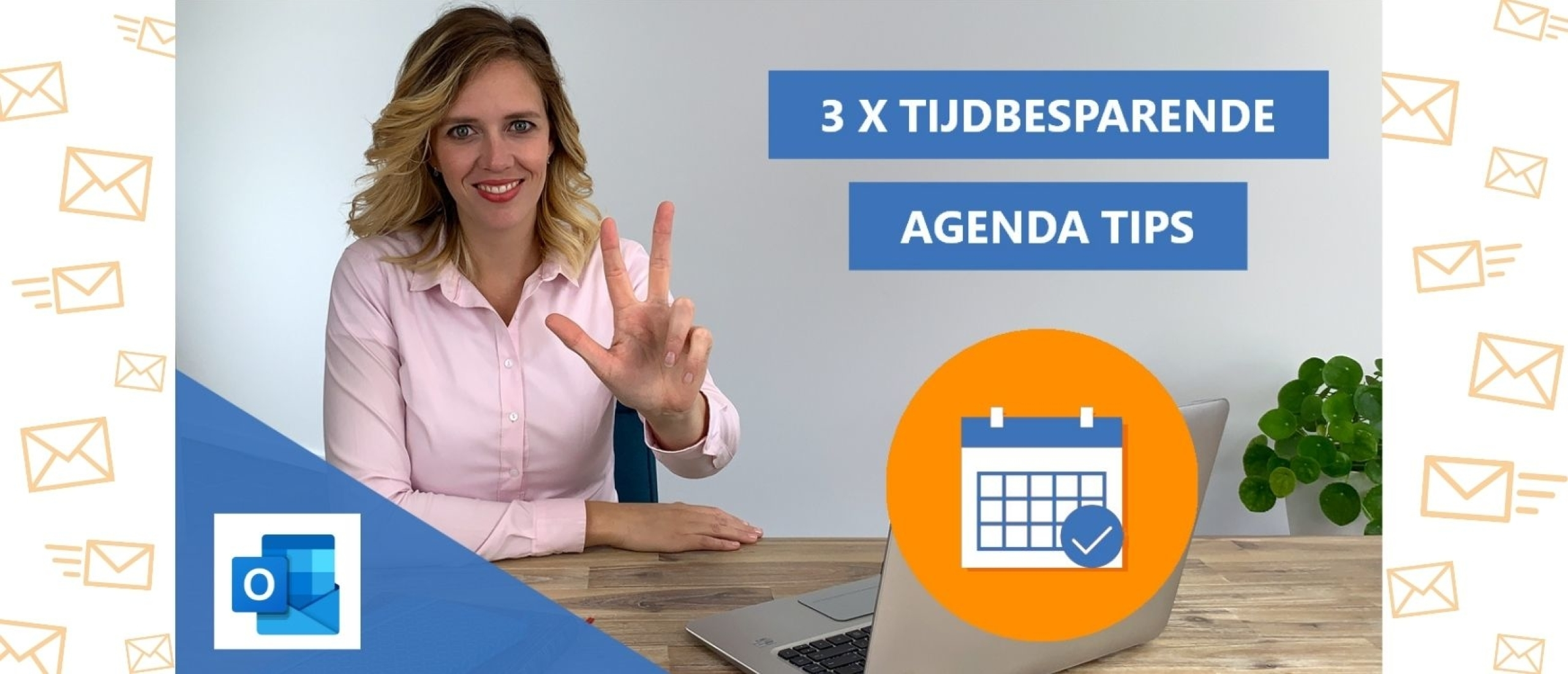Slim plannen & tijdbesparende agenda tips & trucs in Outlook