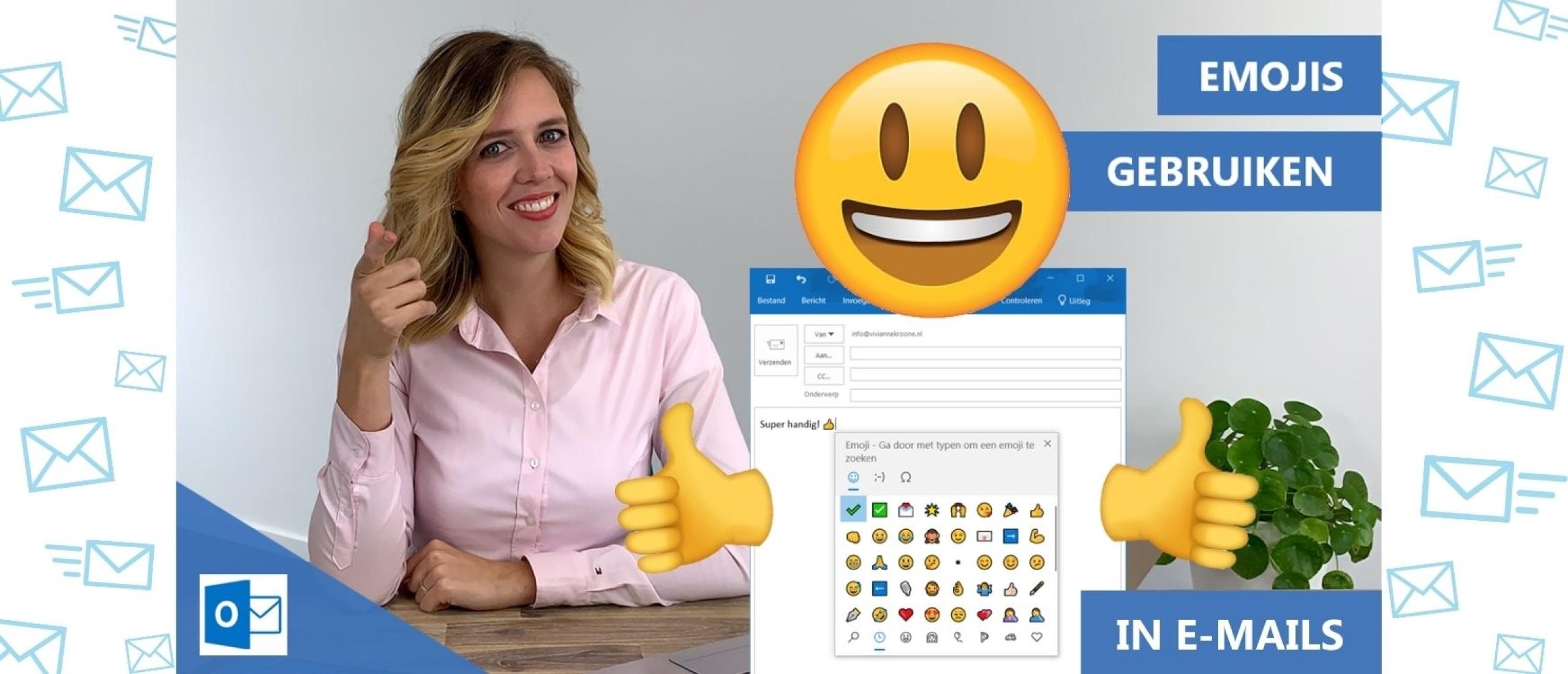 Smileys in e-mail gebruiken; ja of nee?