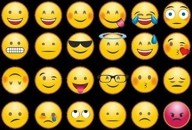 Smileys gebruiken in email