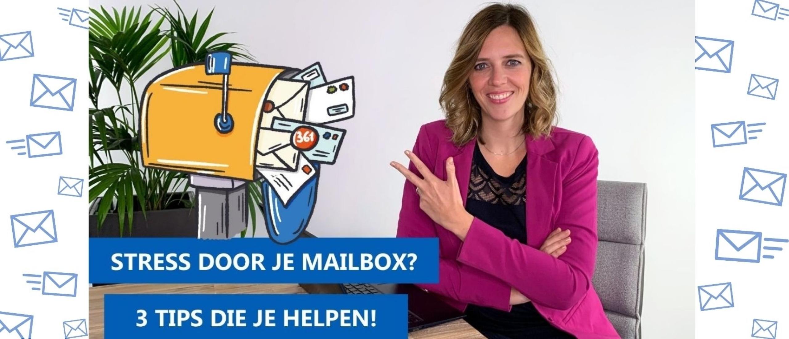 Stress door je mailbox? 10 tips om weer grip te krijgen op je e-mails