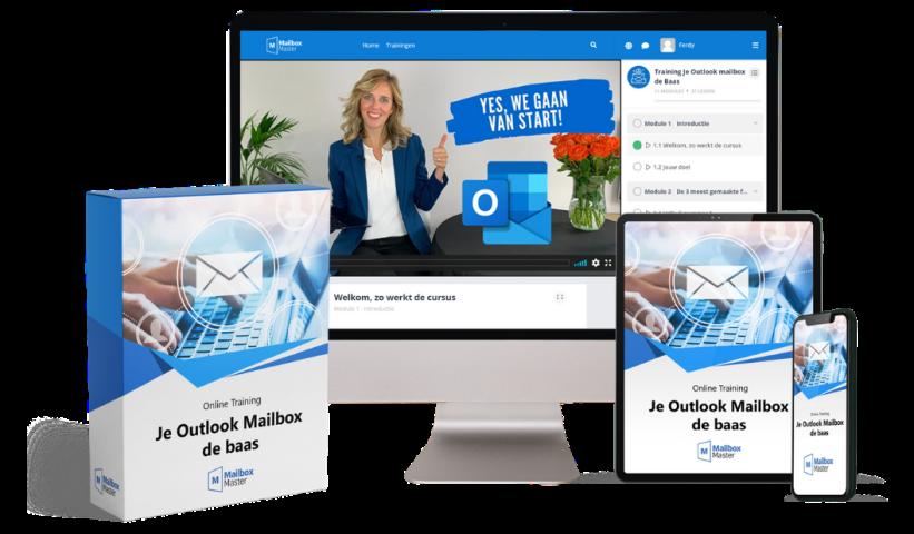 Je Outlook mailbox de Baas training door Vivianne Kroone Mailbox Master