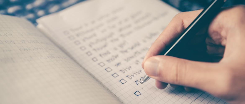 To do list tips: de Do's en Don'ts voor een goed werkende takenlijst