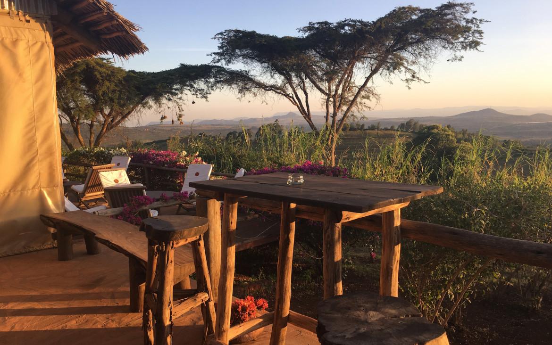 My Safari in Tanzania tented camp