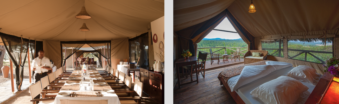 Tented camp Glamping Safari Tanzania