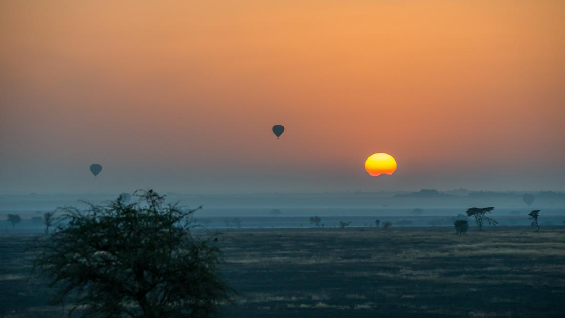 Ballonsafari Serengeti