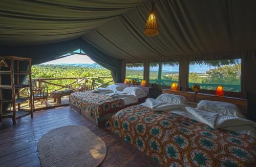 Familiekamer Rhotia Valley Tanzania Safari