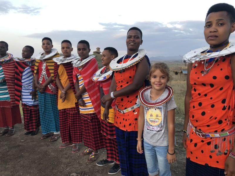 Met kinderen naar Tanzania