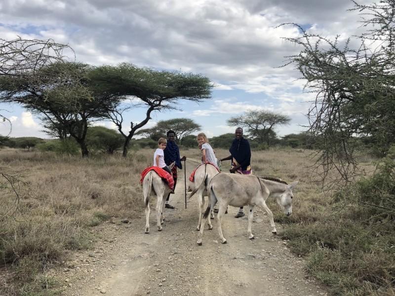 Familiereis Tanzania Safari Zanzibar strand met kinderen