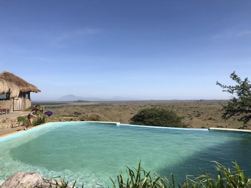 Familiereis Tanzania accommodaties met zwembad