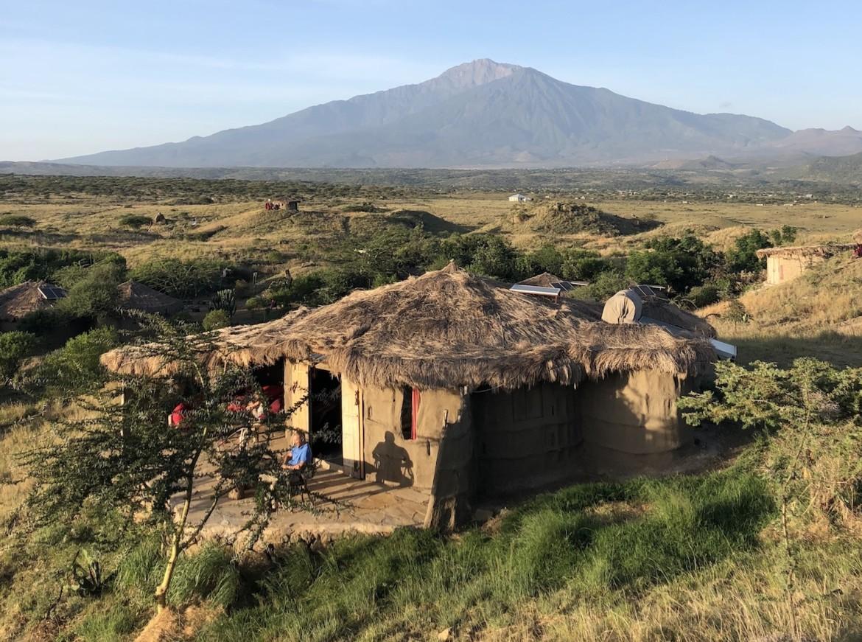 Maasai Lodge Stammen Tanzania