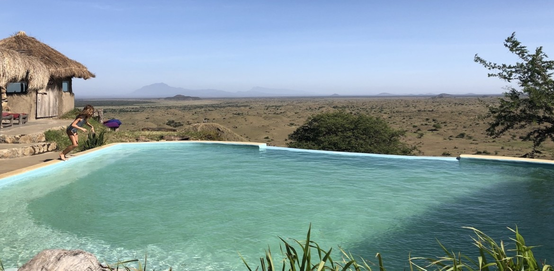 Maasai Lodge Stammen Tanzania Zwembad