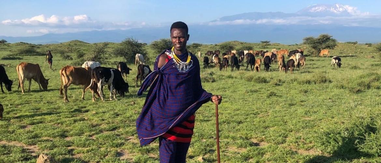 Maasai Lodge net zo fraai als de Maasai Stam zelf