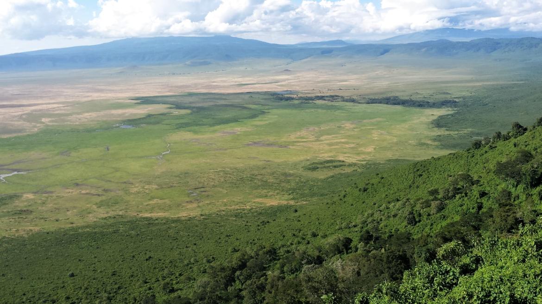 De Ngorongoro krater