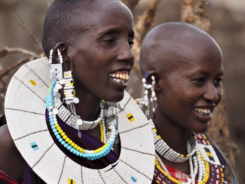 Safari Tanzania Maasai Stam
