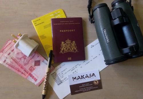 Tanzania Afrika Vakantie Paspoort