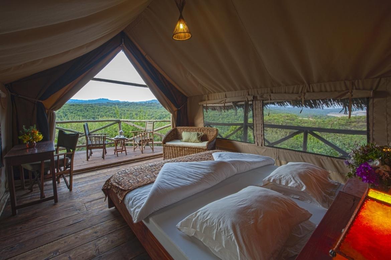 Tented camp Tanzania reis