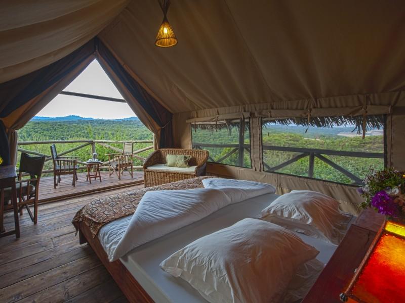 Tanzania Safari Glamping Tented Camp