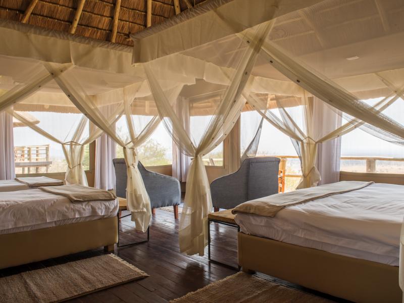 Tanzania Safari Glamping Tented Lodge