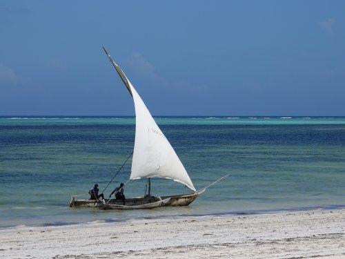 Boottocht in Zanzibar
