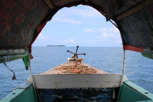 Prison island in Zanzibar