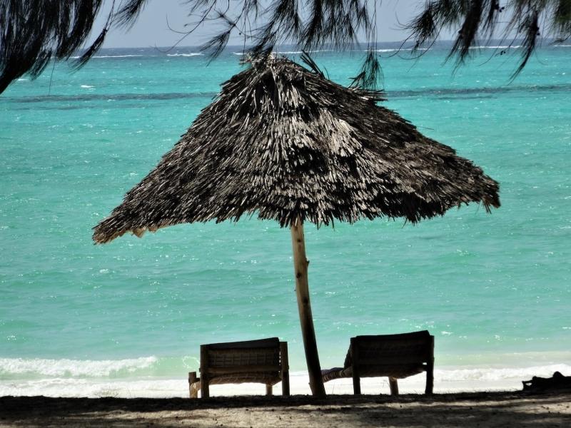 Stranden op Zanzibar