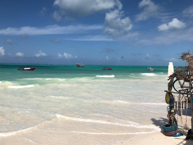 Paje Beach - een van de mooiste stranden van Zanzibar